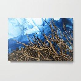 Mar profundo Metal Print