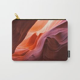 The Waves of Antelope Canyon Carry-All Pouch