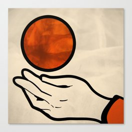 juggle Canvas Print