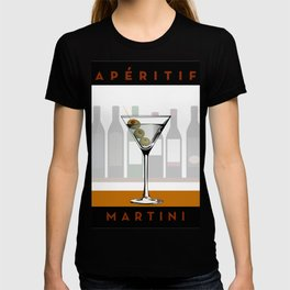 Aperitif Martini Cocktail T-shirt