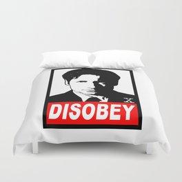 Disobey Mulder Duvet Cover