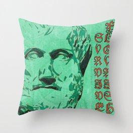 Survive. Flourish. Throw Pillow