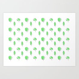 little tress Art Print