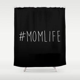 #momlife Shower Curtain