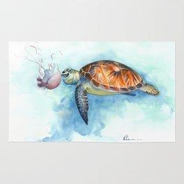 Turtle Noms Rug