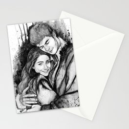 Lovers by Vittoria Monsta Stationery Cards