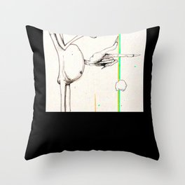 Mile's Warlock Throw Pillow