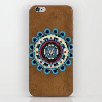 sacred geometry iPhone & iPod Skins featuring Sacred Geometry by Angel Decuir
