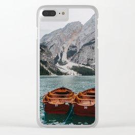 Braies, Italy #society6 #decor #buyart Clear iPhone Case