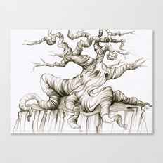 Sad Sad Tree Canvas Print