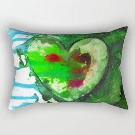 Eternal Heart No. 13H by Kathy Morton Stanion Rectangular Pillow