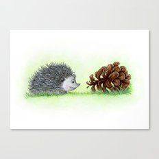 Spiky Duo Canvas Print