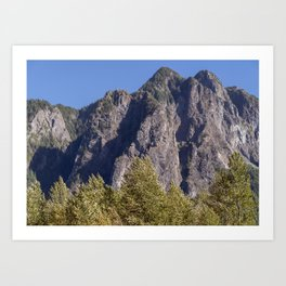 Wonderful Mountains Art Print