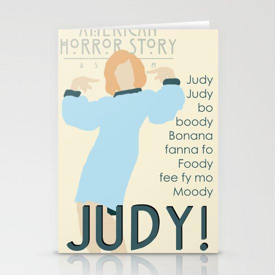 Judy Martin - Name Game w/Judy Lyrics Stationery Cards