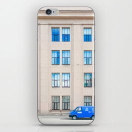 The Blue iPhone Skin