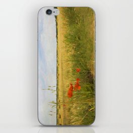 Paysage de Normandie iPhone Skin
