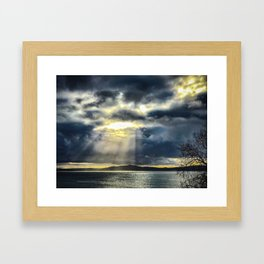 Heaven Sent Framed Art Print