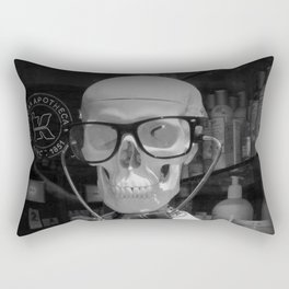 Mad Doc Rectangular Pillow