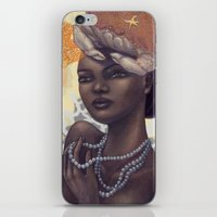 cancer iPhone & iPod Skins featuring Cancer by Artist Andrea