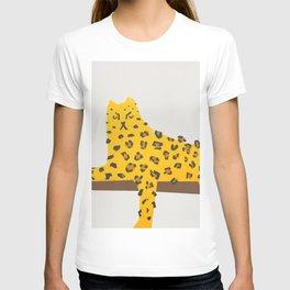 Leopard Lazy T-shirt