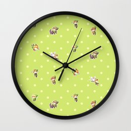 Chibi Links Wall Clock