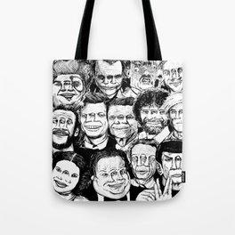 Dead Celebrities Tote Bag