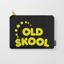 Old Skool Music Quote Carry-All Pouch