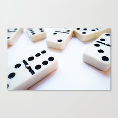 Dominoes Pattern #6 Canvas Print
