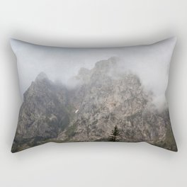 Mountains in a Cloud Rectangular Pillow