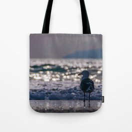 Afternoon Seagull Tote Bag