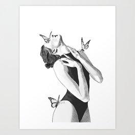 In The Quiet Art Print