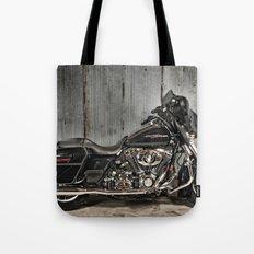 Black Harley Street Glide Tote Bag