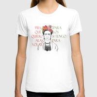 frida T-shirts featuring frida by Vickn