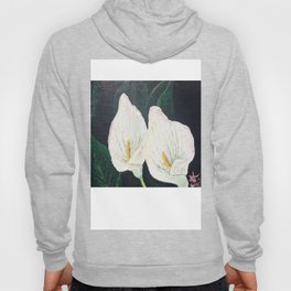 Calla Lily ... Winter Lilly Lily Lilies Lillies White Hoody