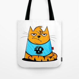 GRUMPY CAAT Tote Bag