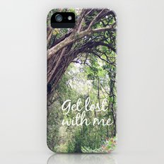 GET LOST in the ENCHANTED FOREST  iPhone (5, 5s) Slim Case