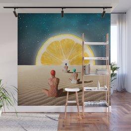 Desert Moonlight Meditation Wall Mural
