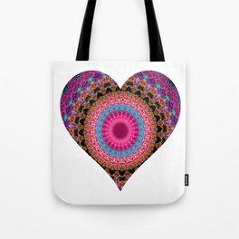 XL Valentine's Heart 4 Tote Bag