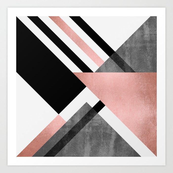 Foldings 2 Art Print