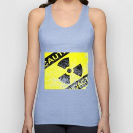 Radioactive Grunge Sign Unisex Tank Top
