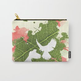 Leaf Bird Carry-All Pouch