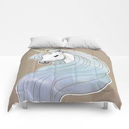 Nouveau Unicorn Comforters