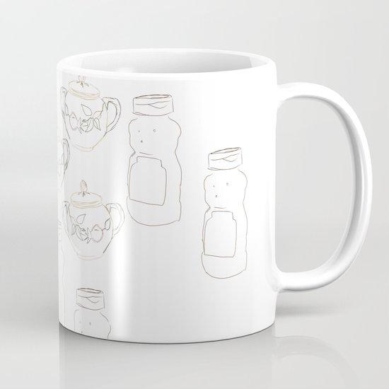 Honey bear and sugar bowl Mug