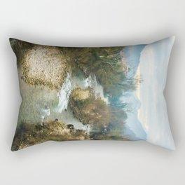 Mountain river Sella Rectangular Pillow