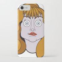 helen iPhone & iPod Cases featuring Helen Sharp by mattiaBAUvegni