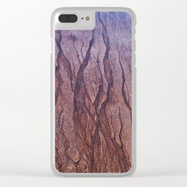 Lines in the Sand Clear iPhone Case