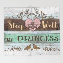 My Princess Throw Blanket
