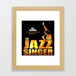 NEIL DIAMOND JAZZ SINGER TOUR DATES 2019 KAMBOJA Framed Art Print