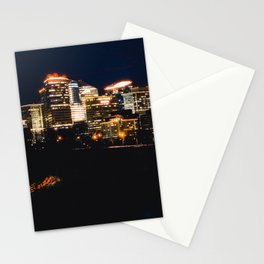 Panoramic View Of Rosslyn Virginia Stationery Cards