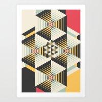 la Art Prints featuring La Plus by Danny Ivan